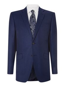 Simon Carter Flannel regular fit suit jacket