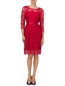 Harper guipure lace dress