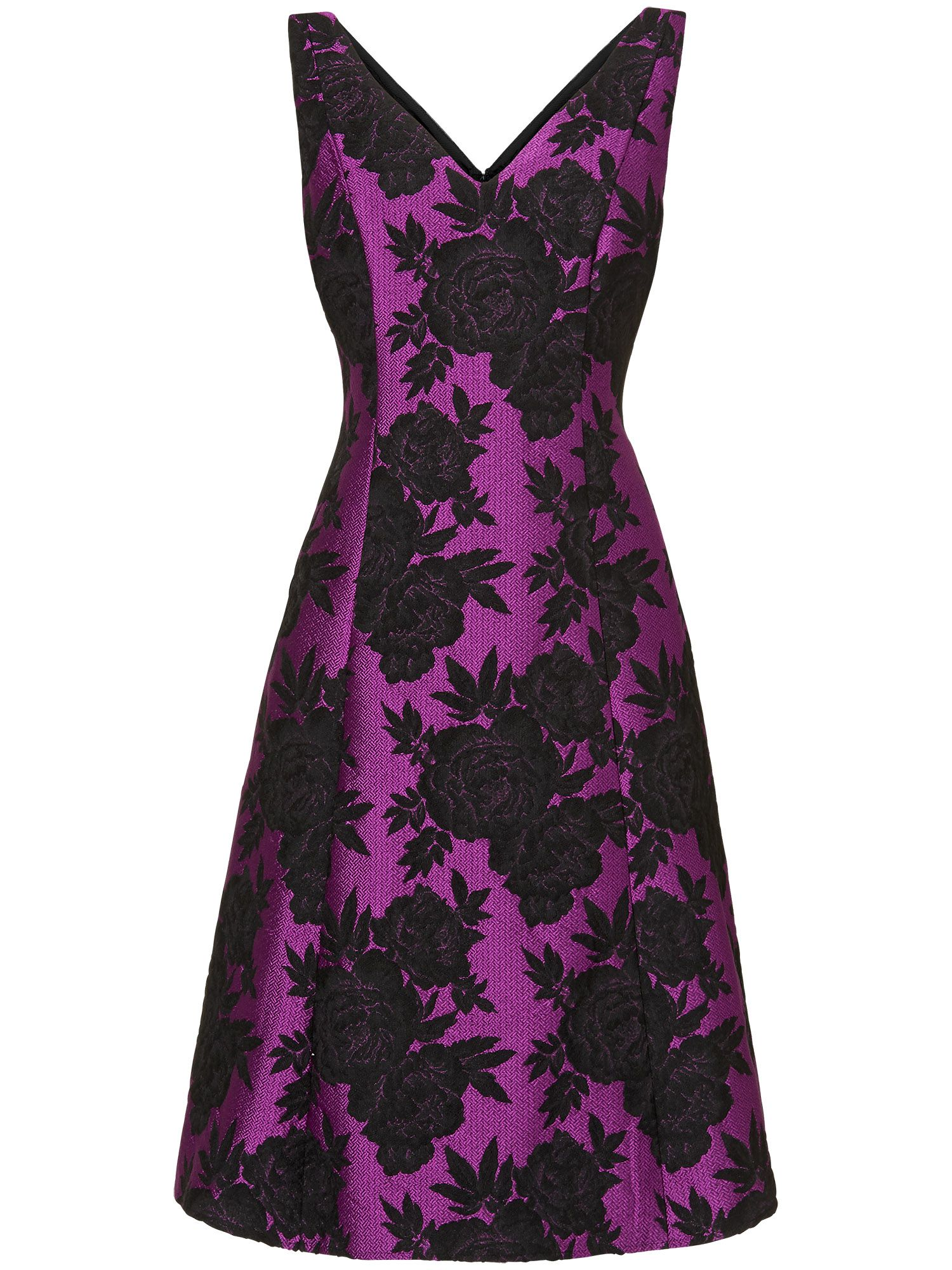 Delilah jacquard dress