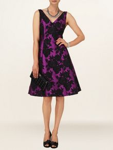 Phase Eight Delilah jacquard dress