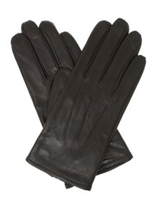 Isotoner Three point leather gloves