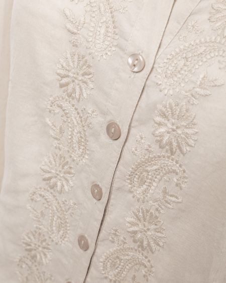 East Embroidered shirt