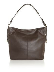 Leather Rosie hobo handbag