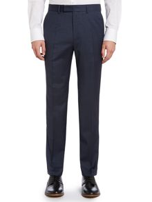 Simon Carter Shadow check slim fit suit trousers