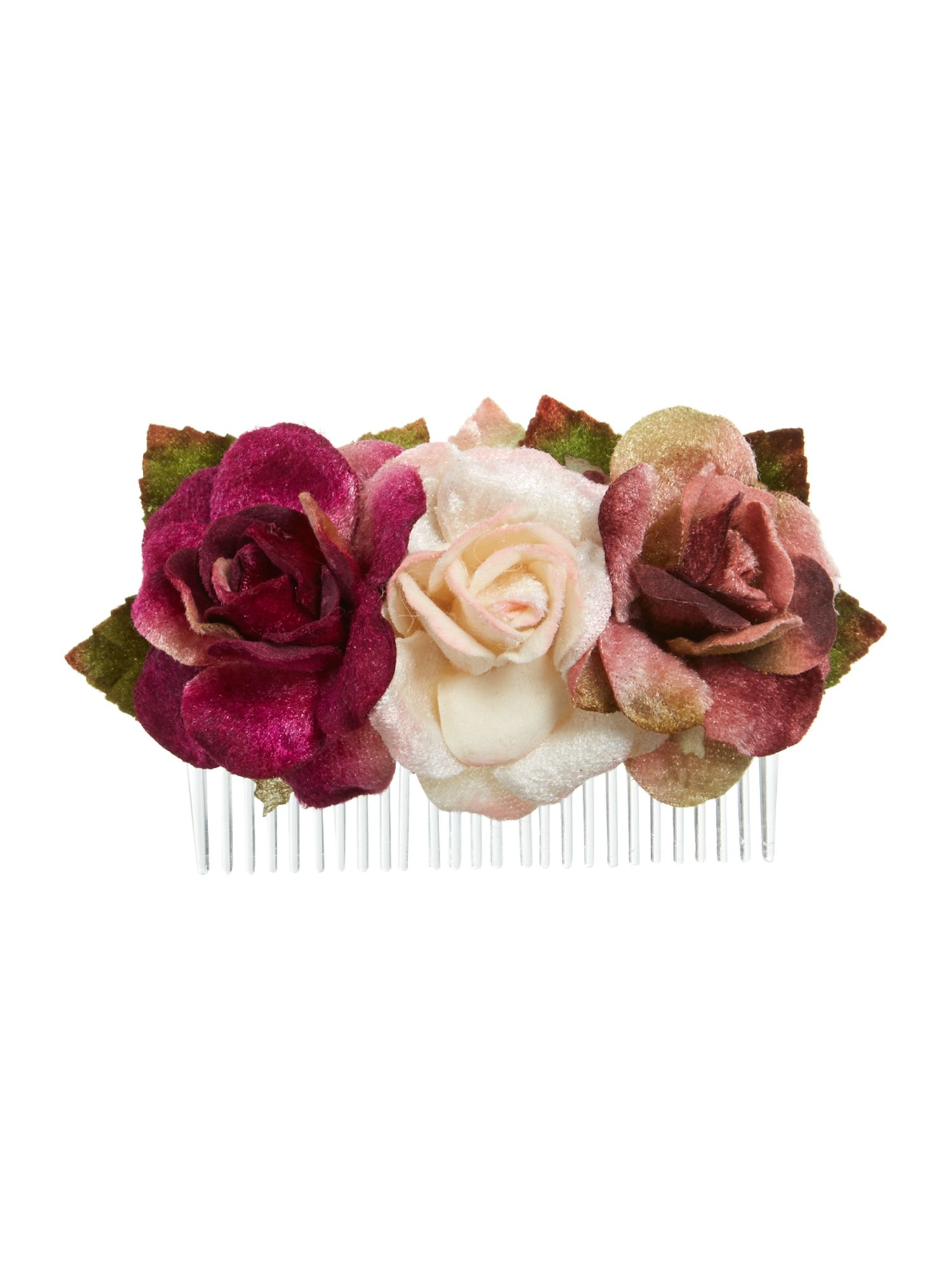 Three rose comb