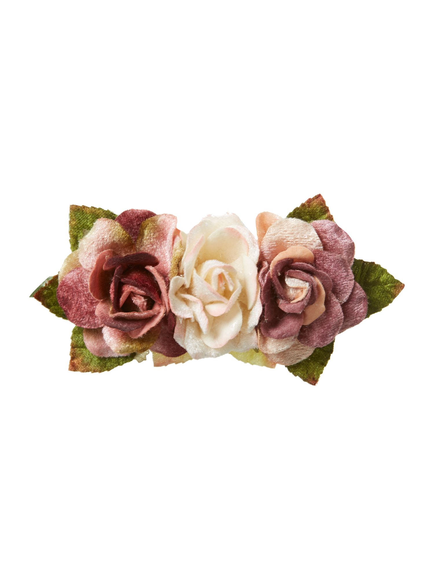 Rose trio hairband