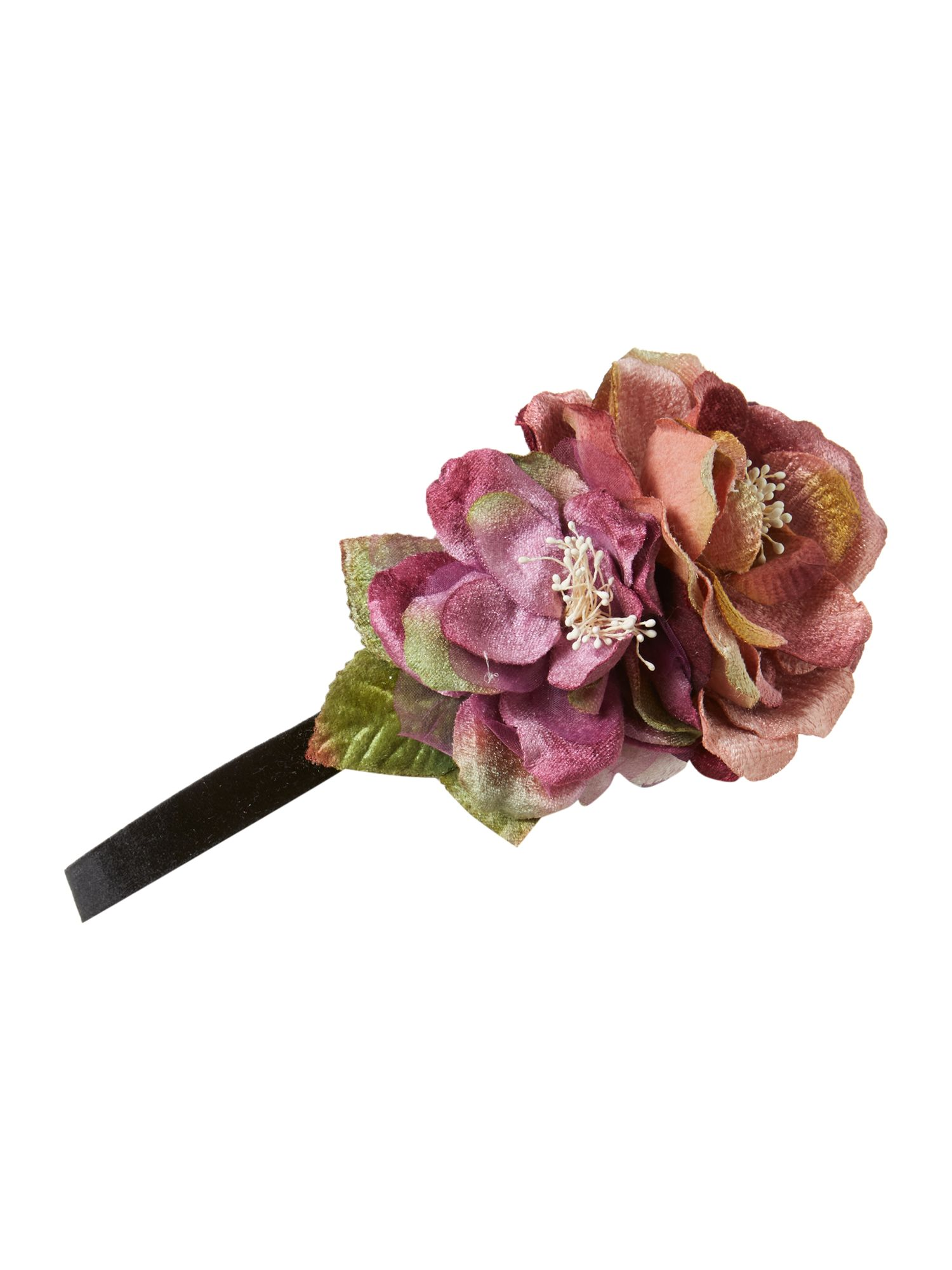 Floral trio stretch headband