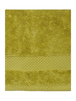Egyptian Cotton Hand Towel in Lime