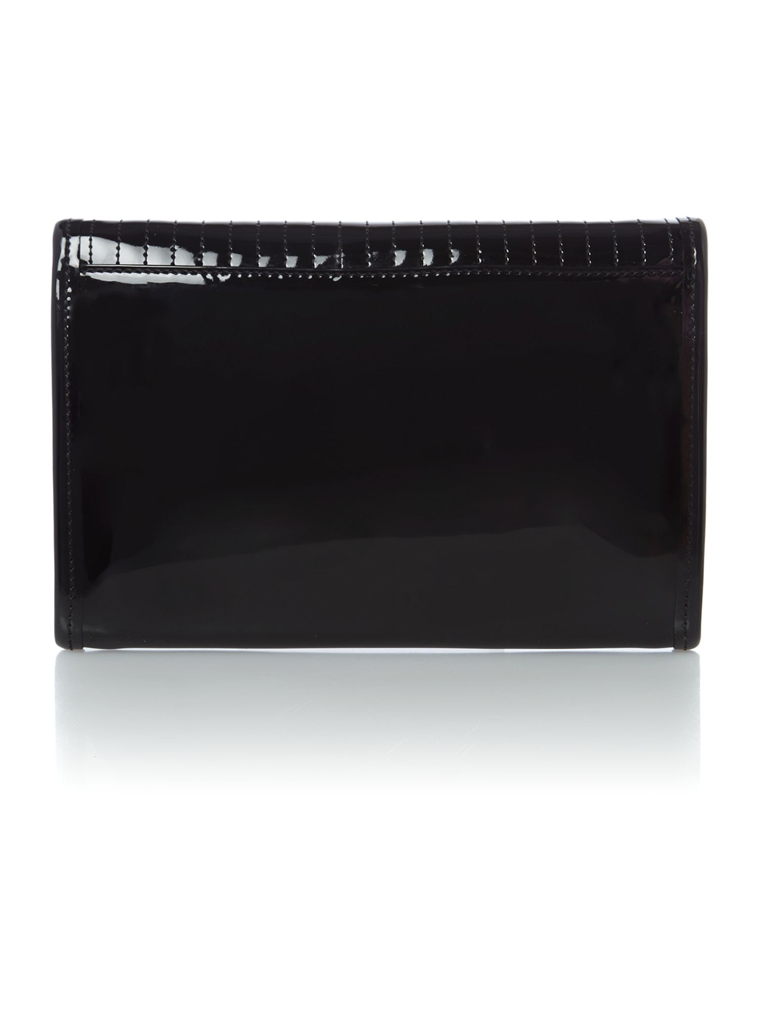 Black quilt clutch ipad bag