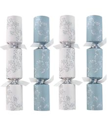 Set of 6 luxury crystal palace sprig crackers
