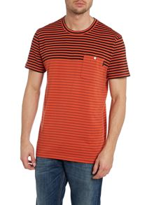Paul Smith 2 Tone Stripe T Shirt