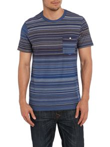 Paul smith multi stripe t shirt