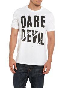 Paul smith dare devil print t shirt