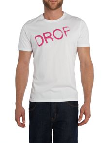 Paul smith drop out print t shirt