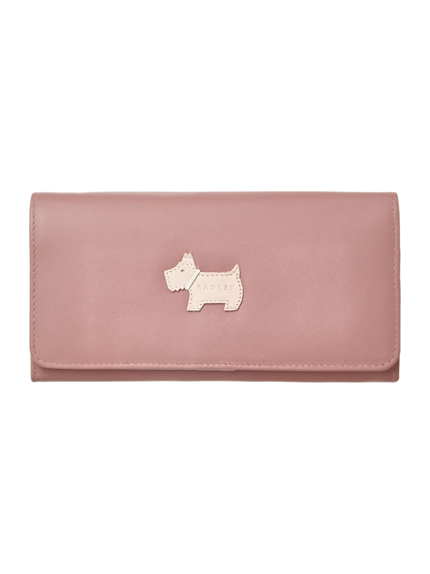 Heritage dog pink large flapover matinee purse