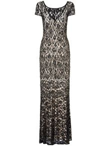 Ramona lace beaded dress