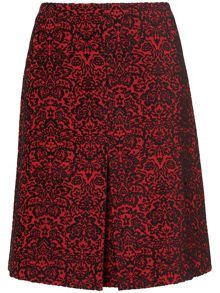 Betty jacquard skirt