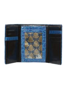 Piping edge trifold wallet