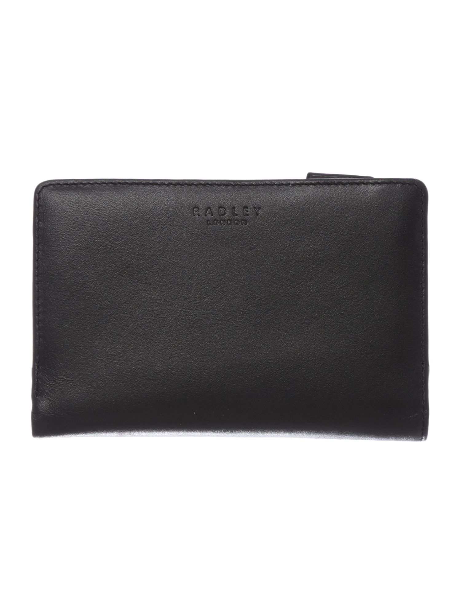 Radley express black medium zip around purse