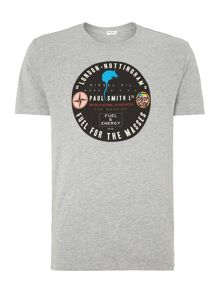 Paul smith tax disc print t shirt