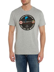 Paul Smith Jeans Paul smith tax disc print t shirt