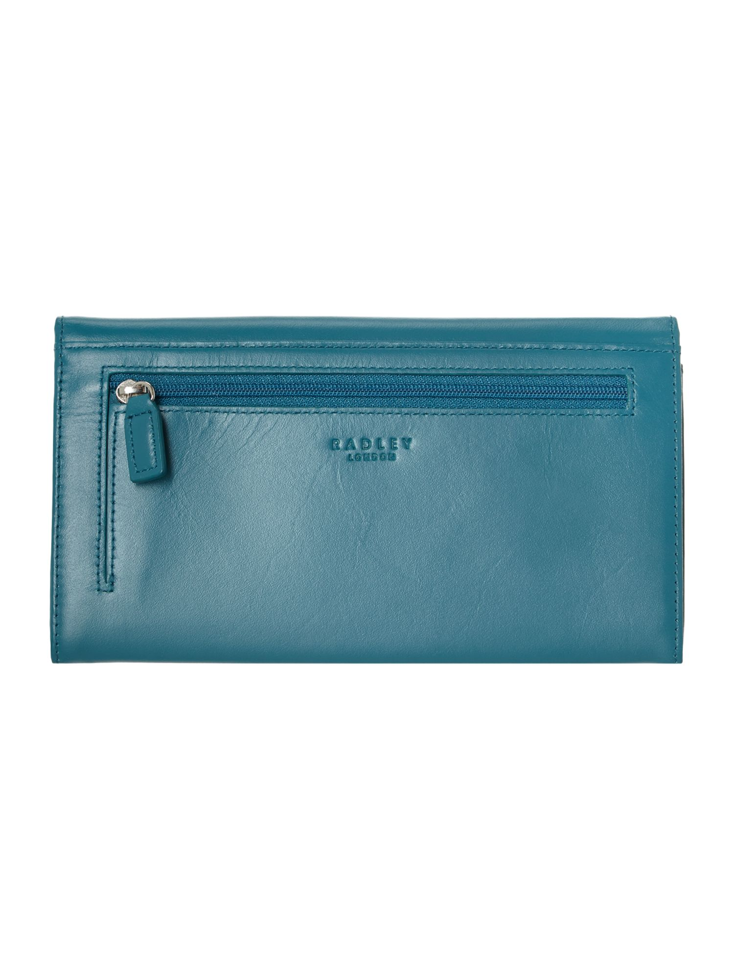 Radley express blue large flap over purse