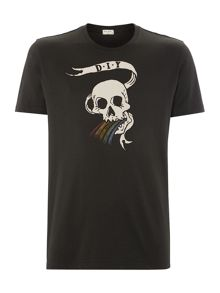 Paul Smith Skull Print T Shirt
