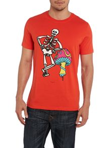 Paul smith skeleton print t shirt