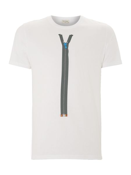 Paul Smith Jeans Paul smith zip print t shirt