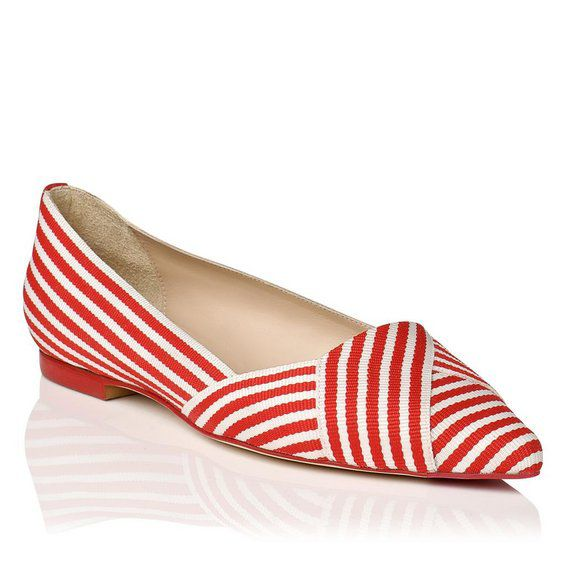 Dale pointy single sole shoes