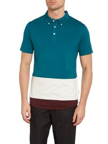 Paul Smith Jeans Paul smith colour block polo shirt