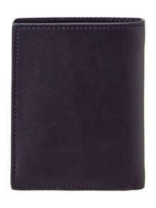 Smooth leather bifold wallet