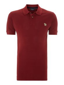 Paul smith short sleeve zebra polo shirt