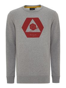 Paul smith triangle print sweatshirt