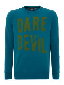 Paul Smith Jeans Paul smith dare devil print sweatshirt