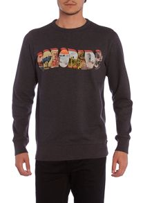 Paul smith colorado print sweatshirt