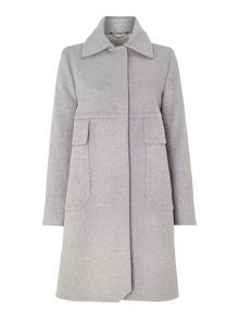 Marella Collared wool coat
