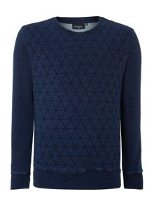 Paul smith quilted sweatshirt