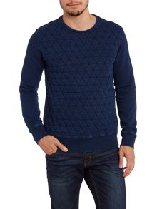 Paul Smith Jeans Paul smith quilted sweatshirt