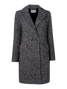 Marella Tweed button coat