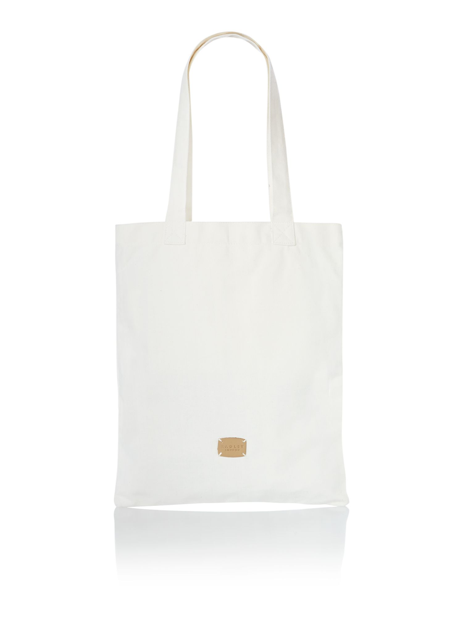 A little bird told me natural tote bag