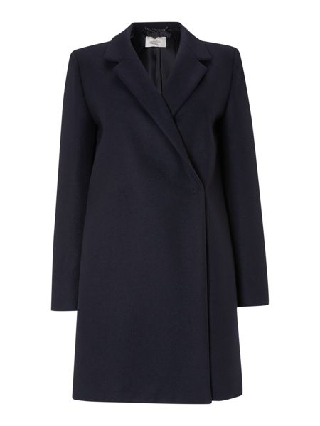 Marella Long sleeve rever collar coat