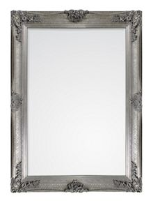 Abbey Rectangle Silver 108 x 78cm