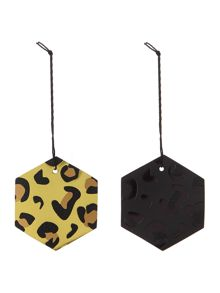 Leopard print gift tags