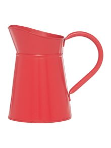 Dickins & Jones Red enamel jug, small