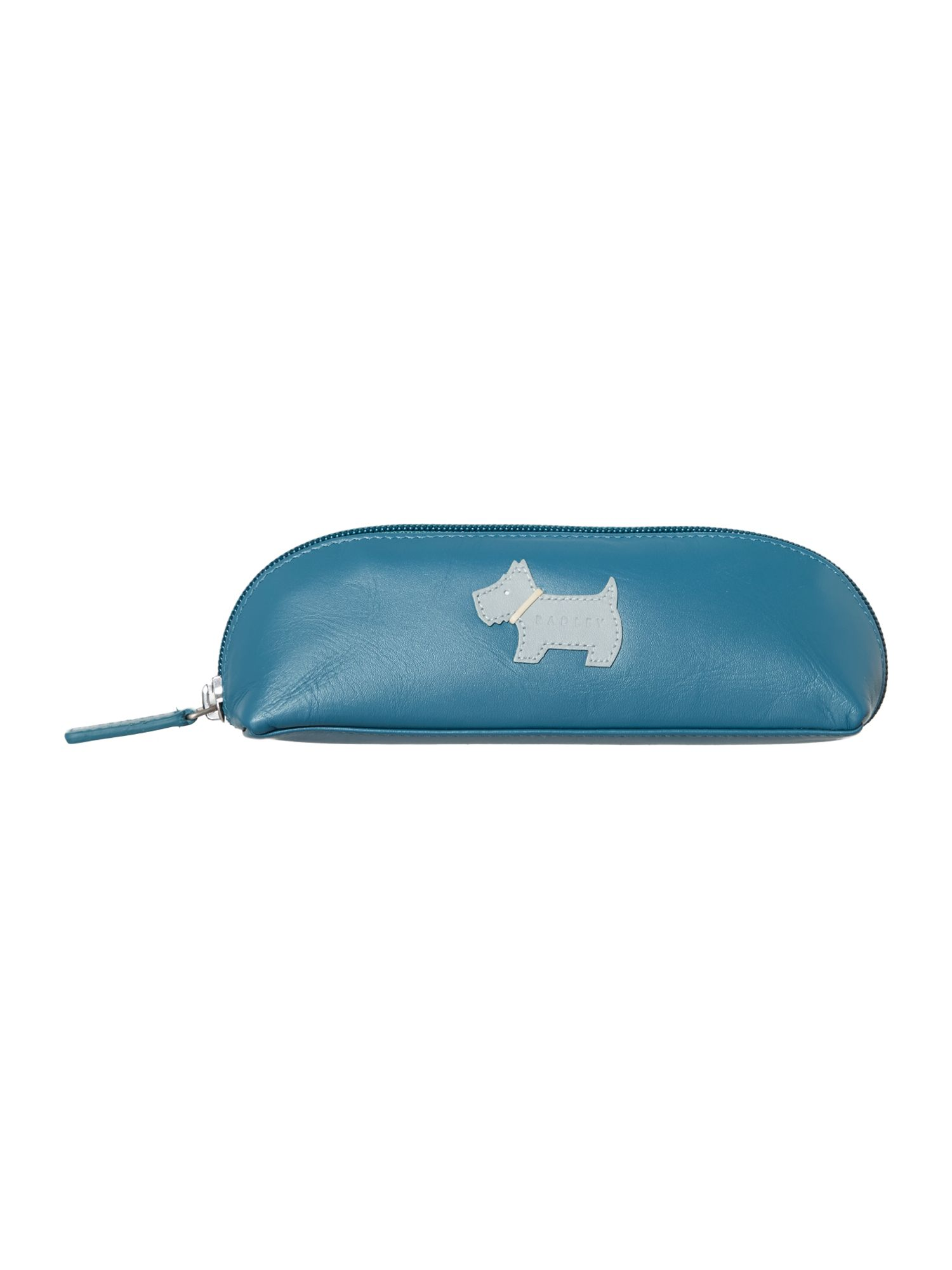 Heritage dog blue medium zip pencil case