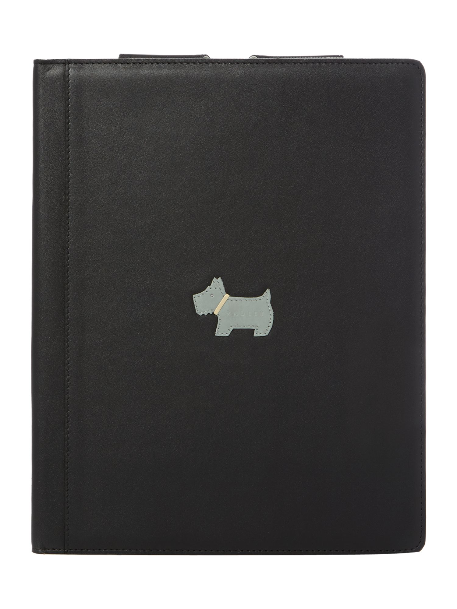Heritage dog black ipad cover