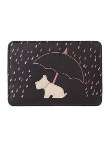 Right as rain black travel card holder