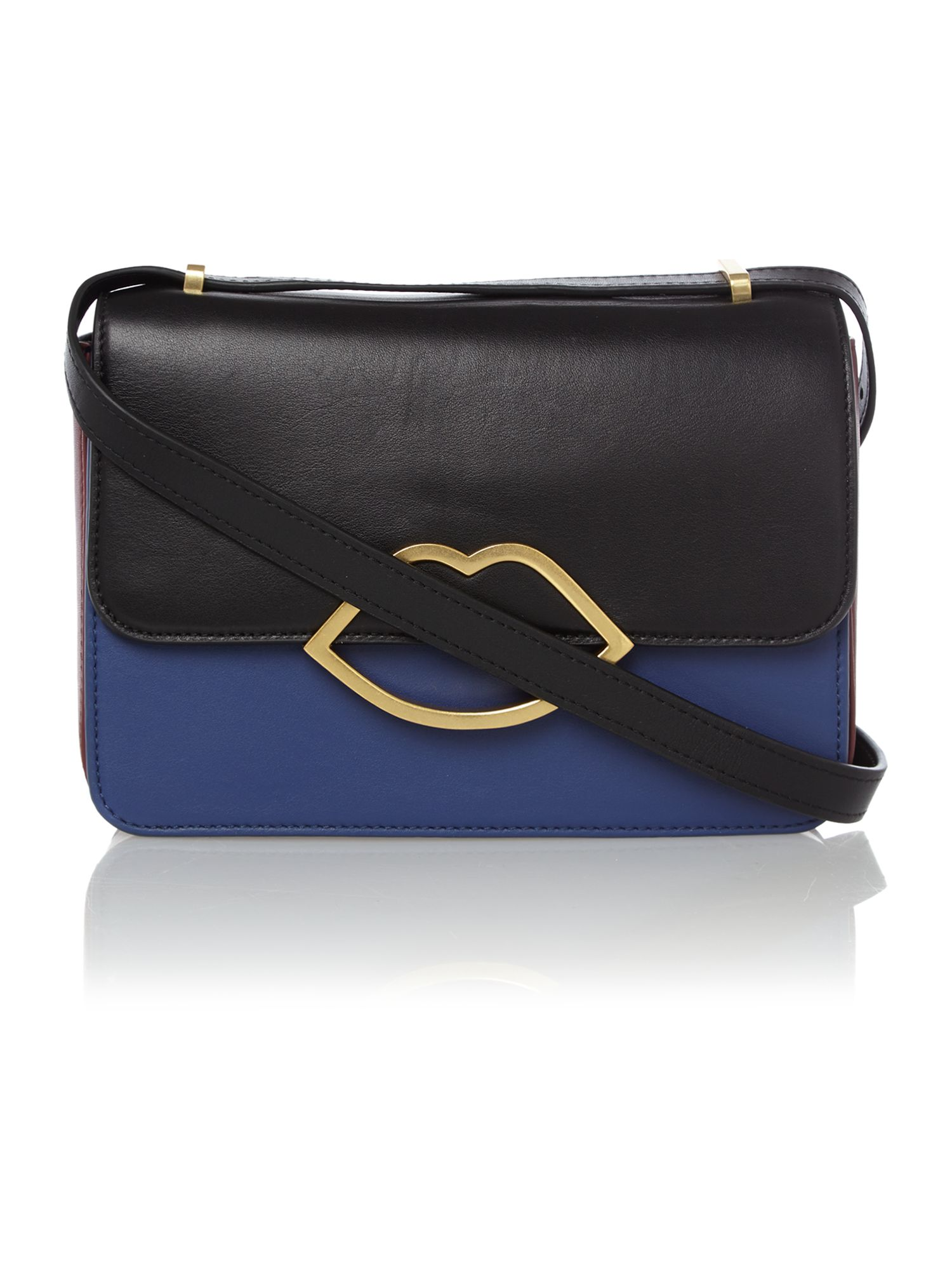 Edie multi-coloured small crossbody bag
