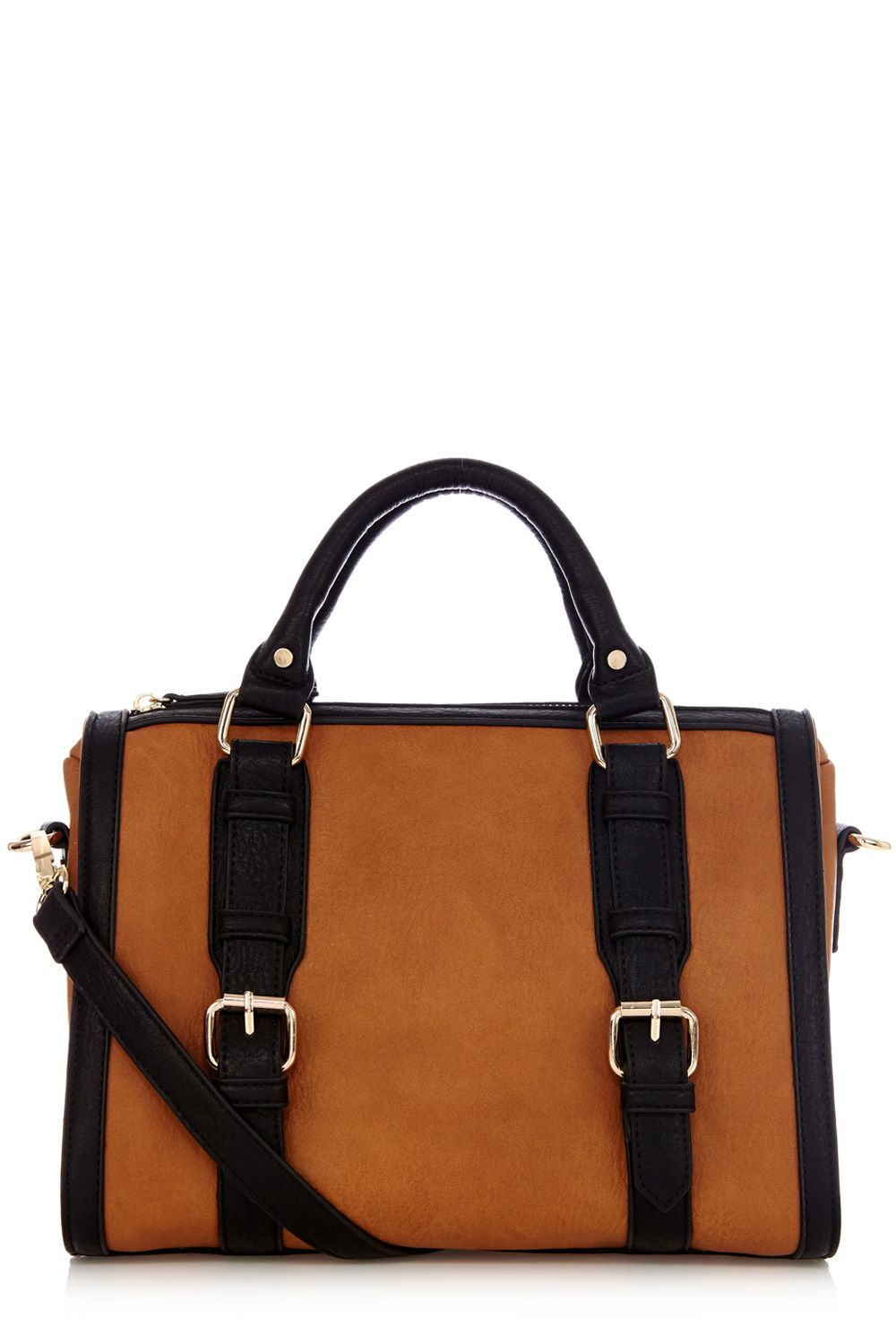 Betty colour block barrel bag